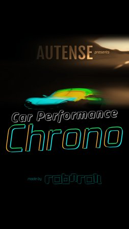 Car Performance Chrono - Title Screen